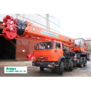 Аренда автокрана 40 тонн 34 метров