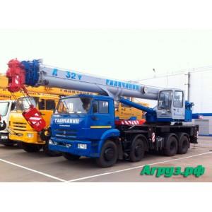 Аренда автокрана Камаз 32 тонны 30.5 метров