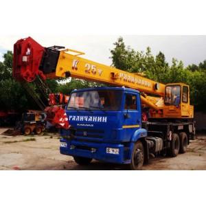 Автокран 25 тонн Камаз в Можайске