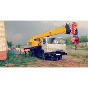 Автокран 16 тонн в Талицы Пушкинского района