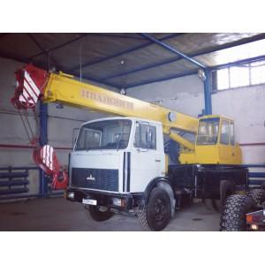 Услуги автокрана Маз Ивановец 16 тонн в Балашихе