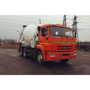 Аренда бетоновоза Камаз 65115 TIGARB в Пушкино