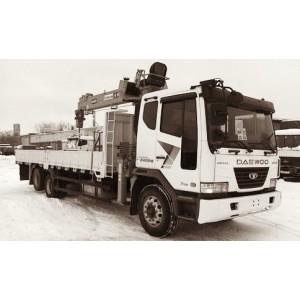 Аренда манипулятора Daewoo Ultra 7 тонн Одинцово