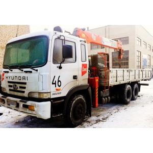 Аренда манипулятора 3 тонны HYUNDAI  в Королёве