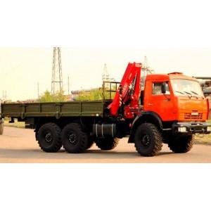 Аренда манипулятора 7 тонн КАМАЗ (вездеход) Лыткарино