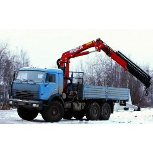 Услуги манипулятора 7 тонн КАМАЗ (вездеход) в Одинцово