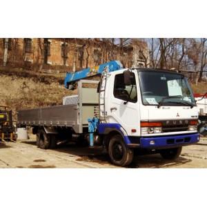 Услуги манипулятора 2 тонны Mitsubishi FUSO Серпухов