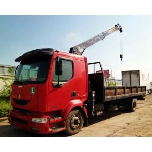 Услуги манипулятора 7 тонн Renault Мытищи