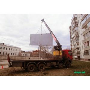 Манипулятор 7 тонн Renault в аренду борт 19 тонн + прицеп в Орехово-Зуево