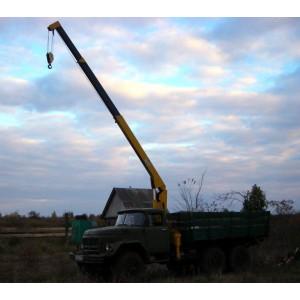 Аренда манипулятора 2.5 тонн ЗИЛ 131 Каменка